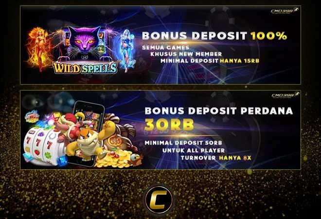 Bonus Deposit Slot