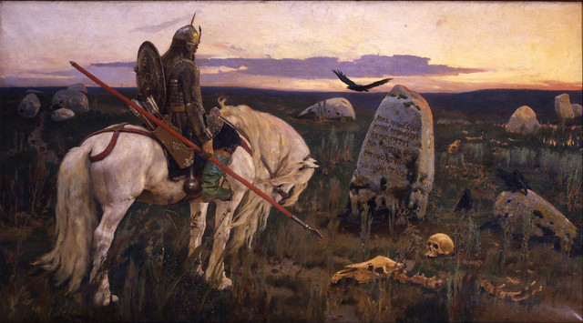 Victor-Vasnetsov-Knight-at-the-Crossroad