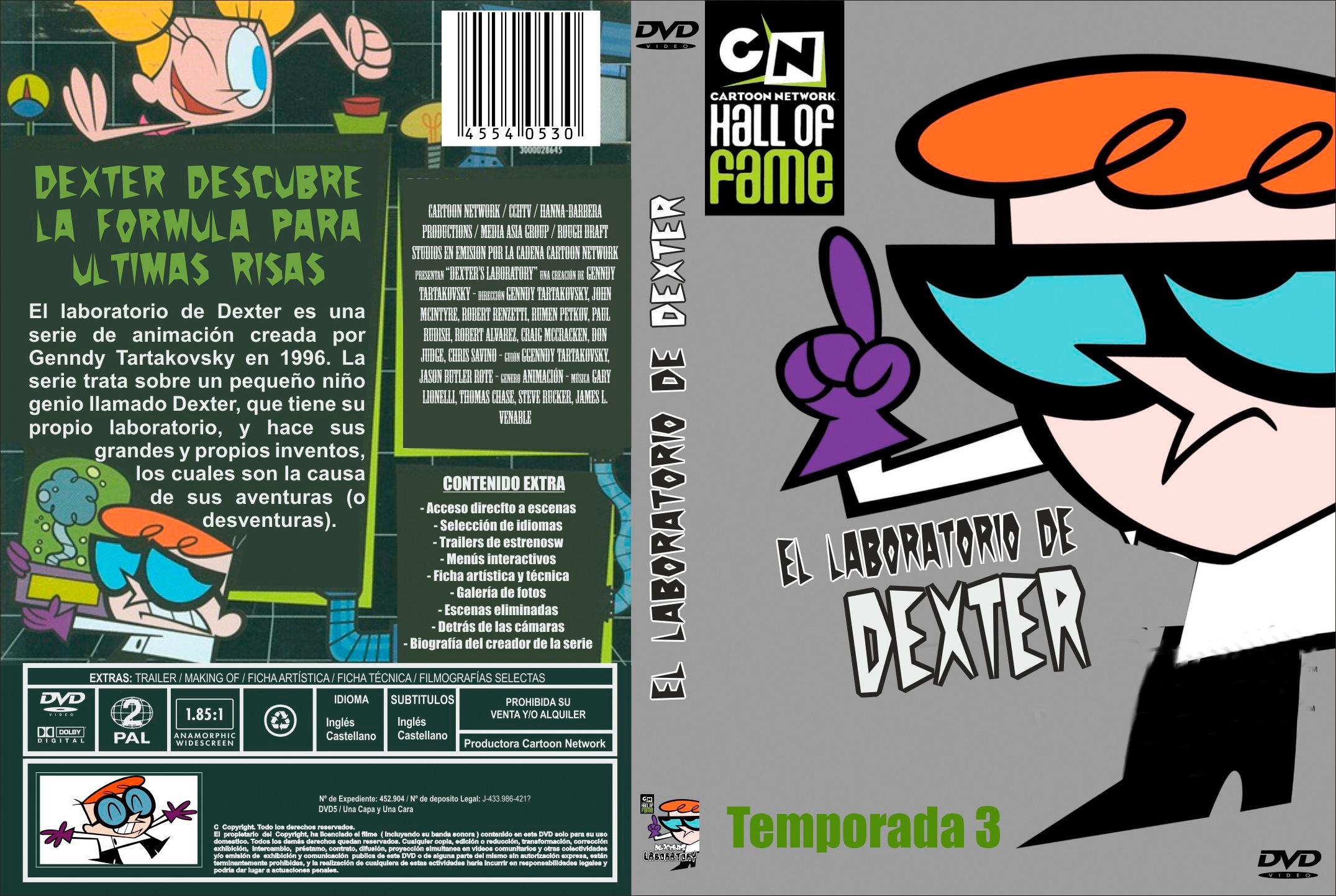 El Laboratorio De Dexter(1996)Temporada3/3-x264]