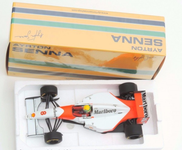 Senna 1993 Minichamps MCLAREN Ford MP4-8