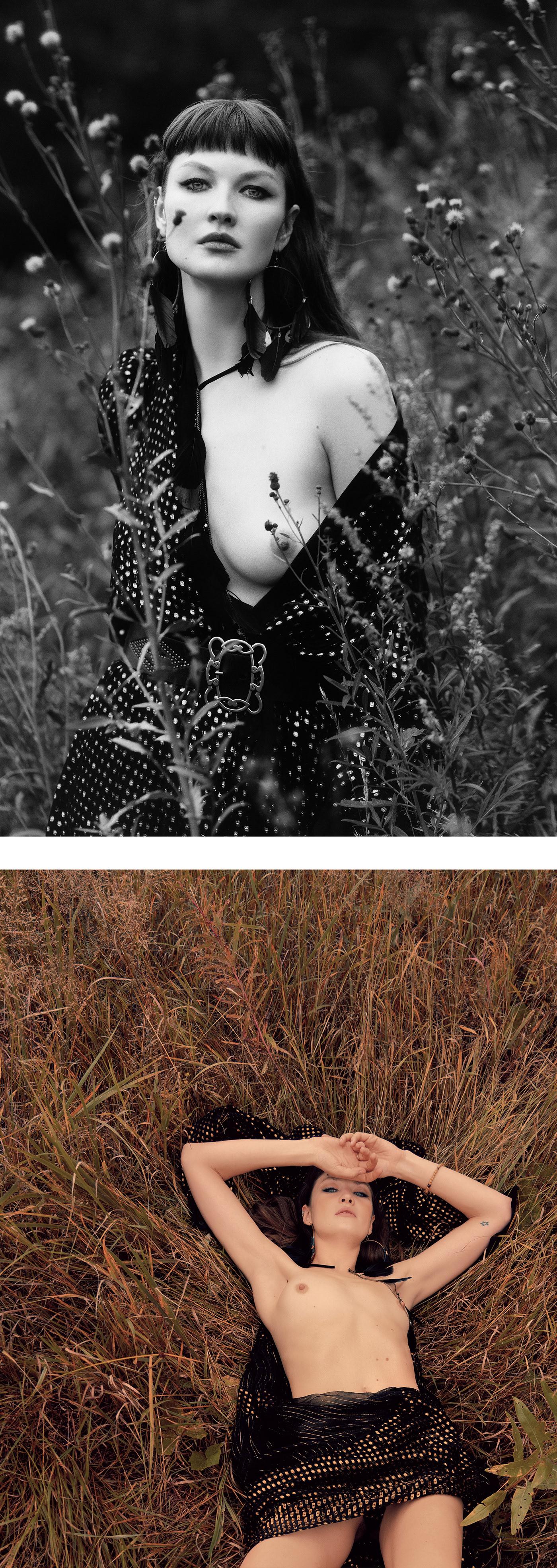 Flower children / фотографии Andrey Yakovlev Lili Aleeva