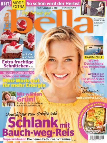 Cover: Bella Frauenmagazin No 36 vom  01  September 2021