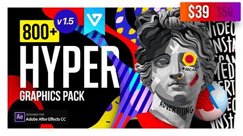Hyper - Graphics Pack V1.5 24835354 - Project & Script for After Effects (Videohive)