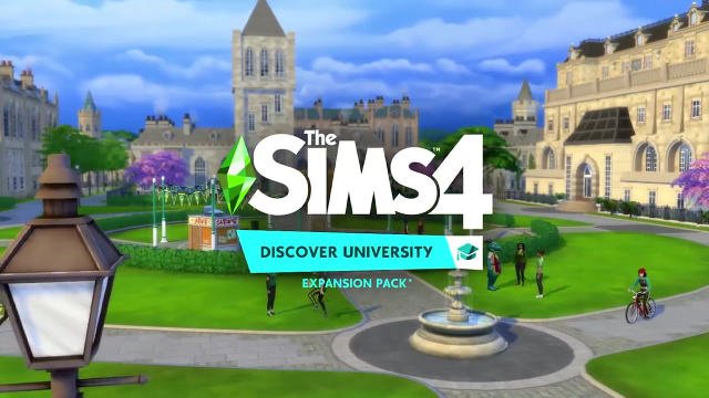 THE SIMS 4: New Discover University Expansion Pack Announced With Reveal Trailer