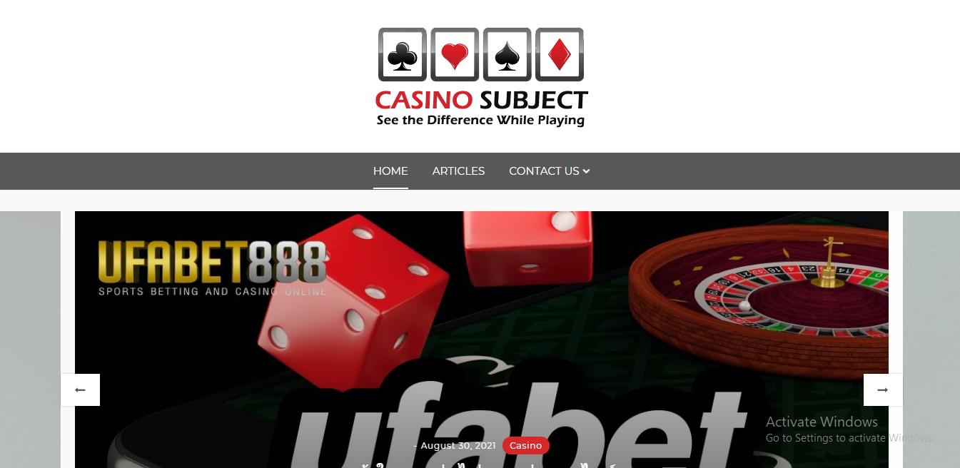 casinosubject