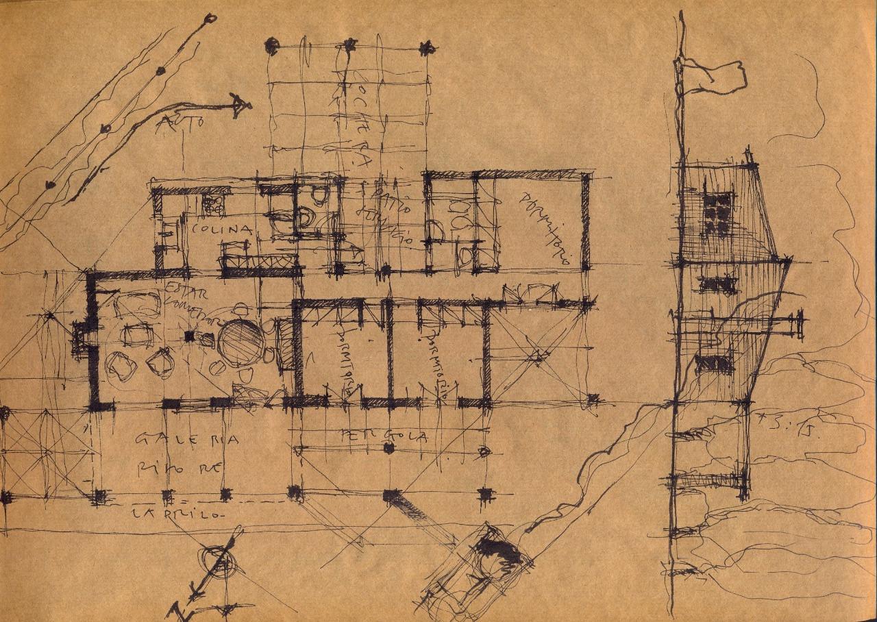 Conjunto de saberes y prácticas de la disciplina arquitectónica
