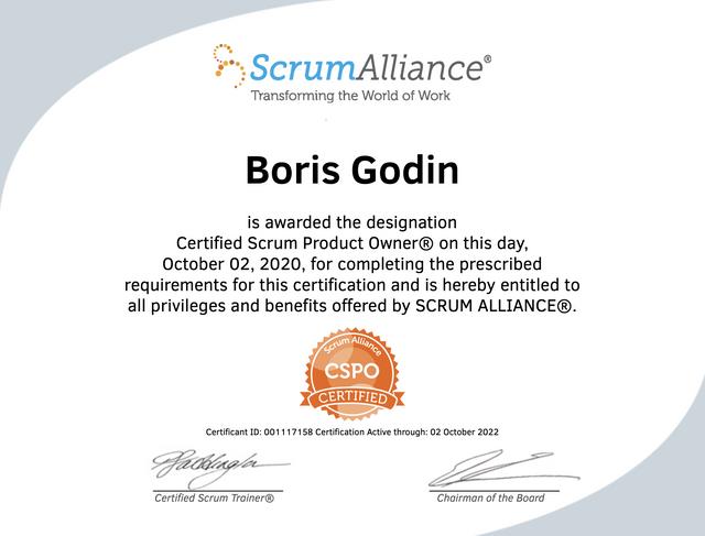 Boris-Godin-CSPO-Certificate-001117158
