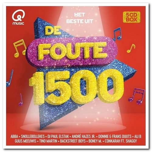 VA - Het Beste Uit De Foute 1500 (5CD) (2021)