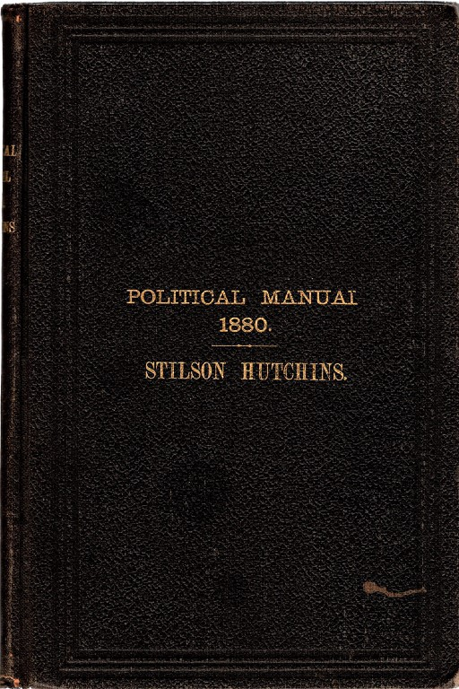 POLITICAL MANUAL, Hutchins, Stilson