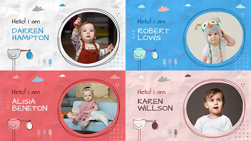 Baby Album Slideshow 32377511 - Project for After Effects (Videohive)