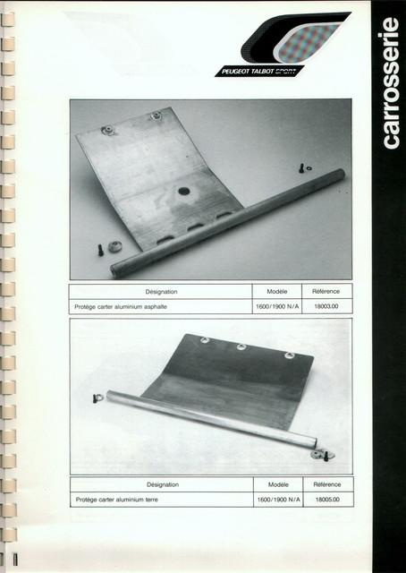 Catalogue PTS pièces compétition - 205 GTI 1600-1900 gr. N/A PTS-Carrosserie-3