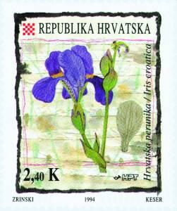 1994. year FLORA-HRVATSKOG-PODRU-JA-HRVATSKA-PERUNIKA