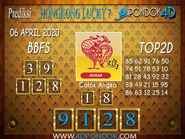 Prediksi Togel HONGKONG LUCKY 7 PONDOK4D 06 APRIL 2020
