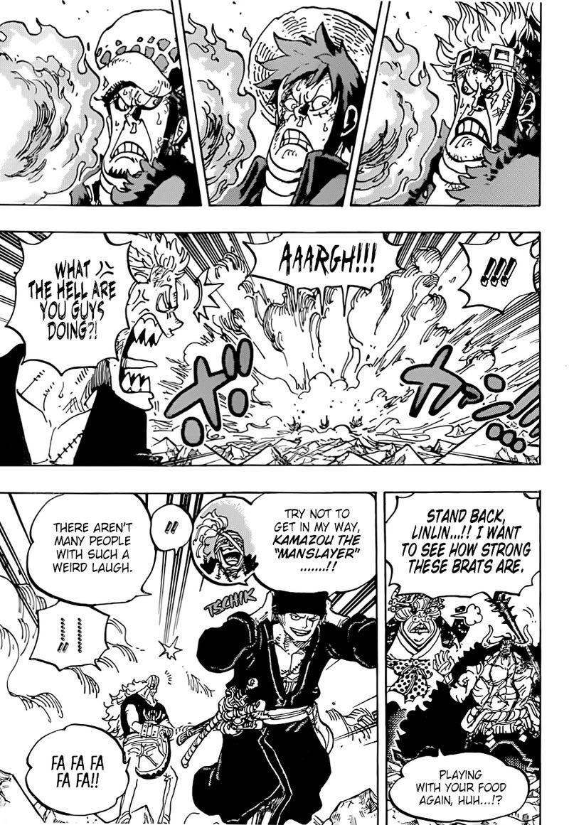 one piece manga chapter 1001 - 009