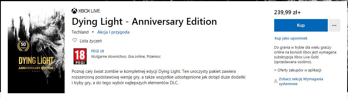 Cena w polskim MS Store
