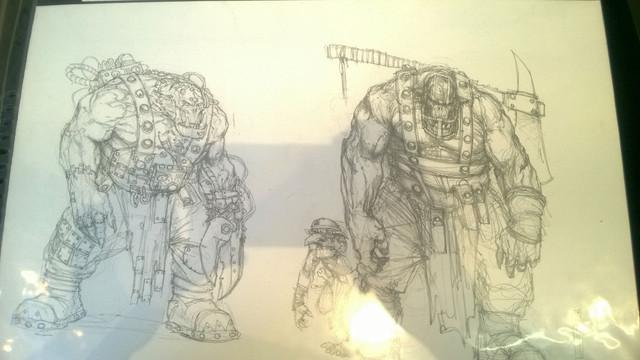 Galerie Daniel Maghen [originaux Warhammer Battle & 40K] 31