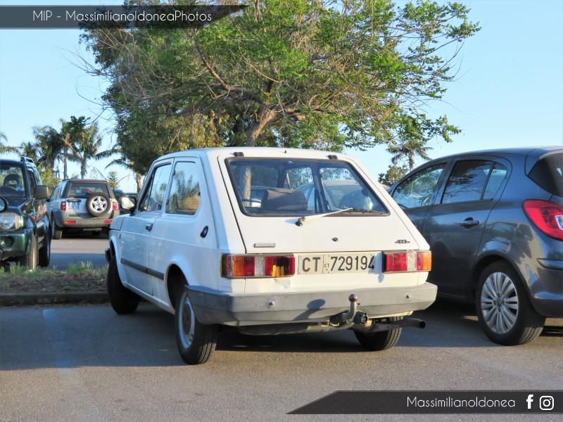 avvistamenti auto storiche - Pagina 19 Fiat-127-1050-49cv-86-CT729194