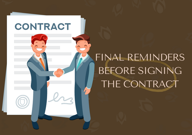 Final-Reminders-Before-Signing-the-Contract
