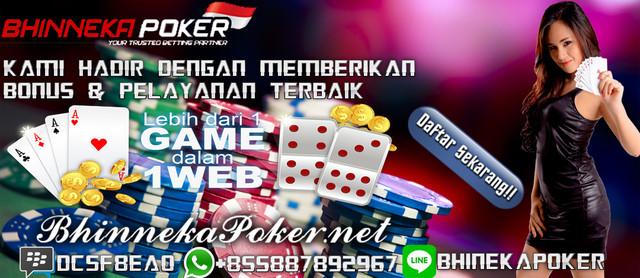 BhinnekaPoker.com | Agen Poker Online Terbaik dan Terpercaya New-10