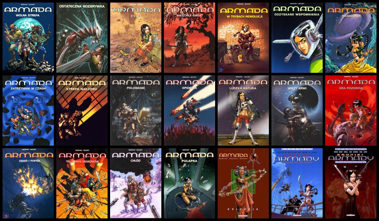 Armada - Różne Komiksy