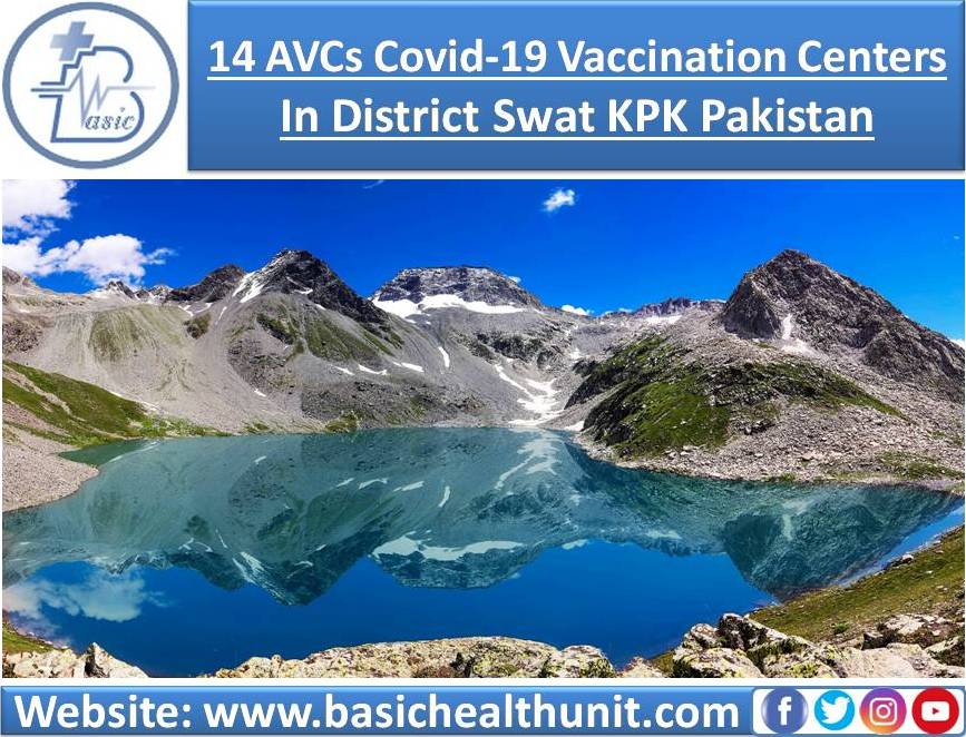 14 AVCs Covid-19 Vaccination Centers In District Swat KPK Pakistan