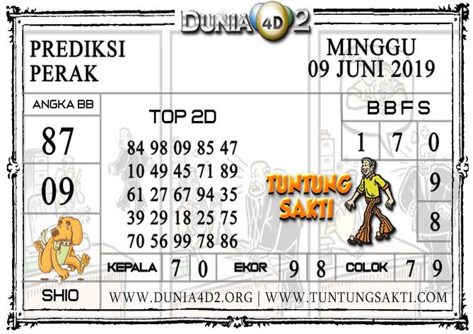 """Prediksi Togel """"PERAK"""" DUNIA4D2 09 JUNI 2019"""