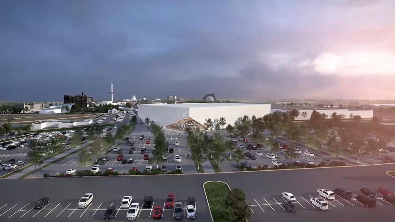 « Arena Futuroscope » grande salle de spectacles et de sports · 2022 - Page 6 Arena-vue1