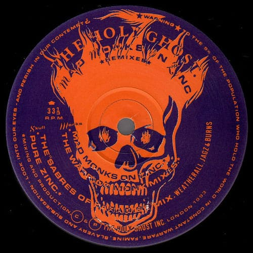 Download The Holy Ghost Inc. - Mad Monks On Zinc (Remixes) mp3