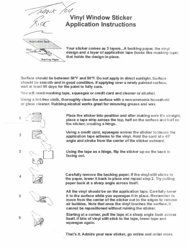 logo instructions