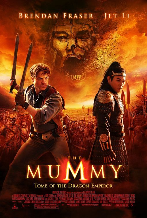 The Mummy: Tomb of the Dragon Emperor 2008 Hindi Dual Audio 720p BluRay ESub 800MB | 400MB Download