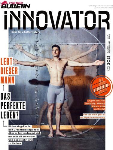 Cover: The Red Bulletin Innovator Deutschland No 02 2021