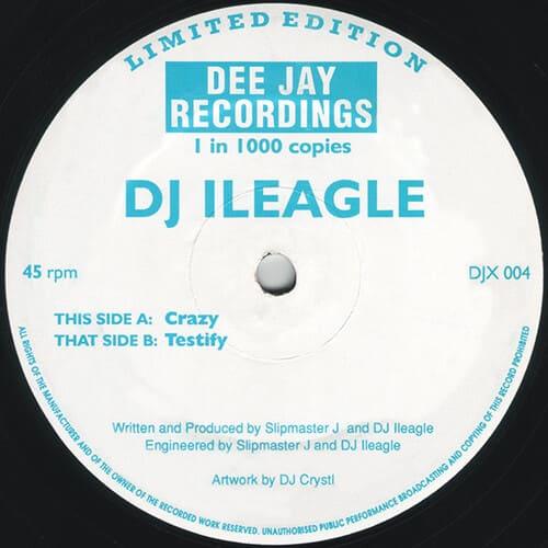 Download DJ Ileagle - Crazy / Testify mp3