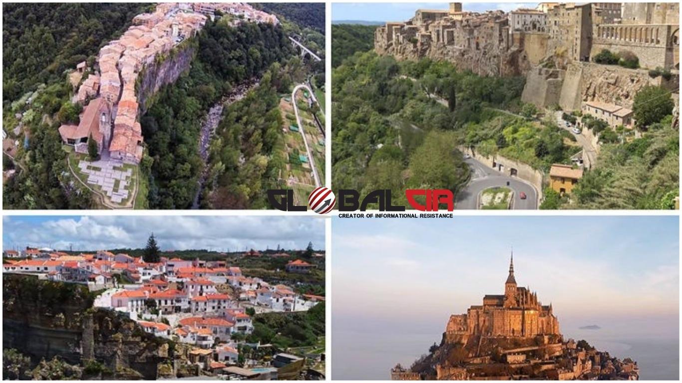 (FOTO/VIDEO) Najljepša mjesta u oblacima: 10 gradova izgrađenih na strmim liticama koji će vas ostaviti bez daha!