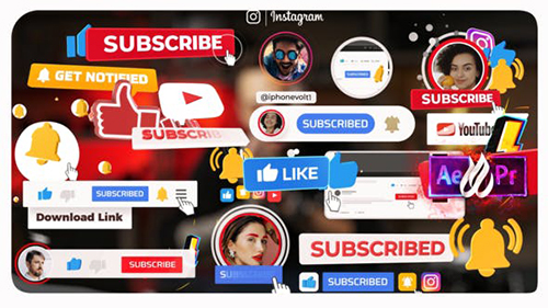 YouTube Subscribe 32070882- Project for After Effects (Videohive)
