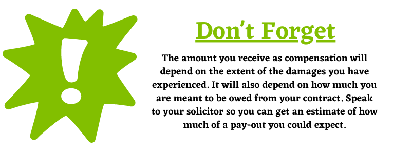 Compensation from your pay-out