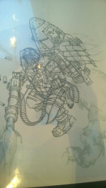 Galerie Daniel Maghen [originaux Warhammer Battle & 40K] 33