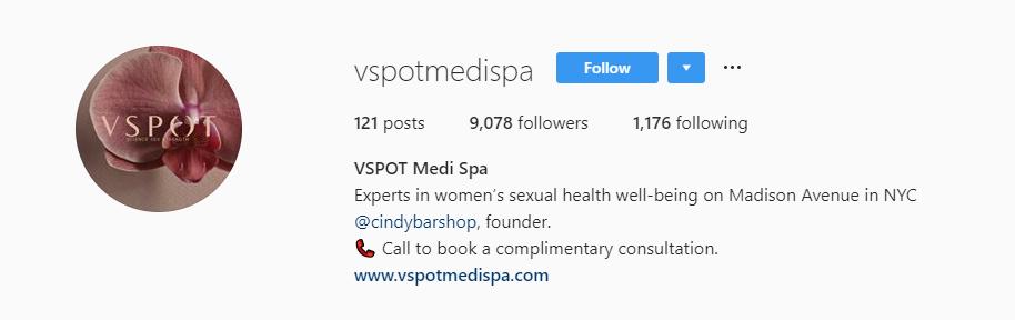 The VSPOT Medi Spa travel product recommended by Julie Kotler on Pretty Progressive.