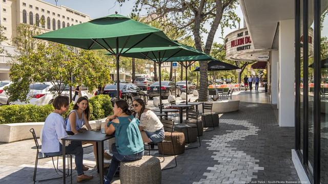 Sidewalk Cafe Seating No Pedestrian Path