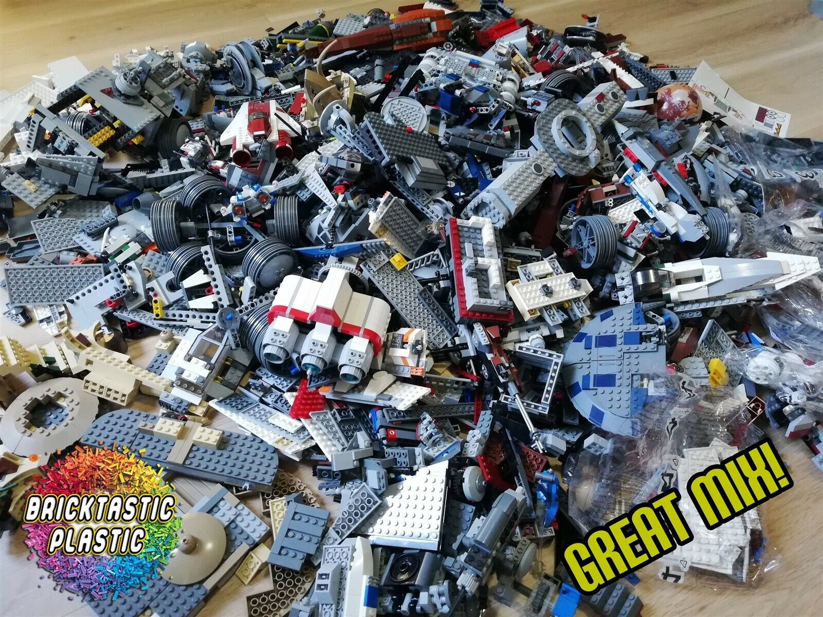 10 KG LEGO CREATIVITY PACKS HAND SORTED x8500pcs BEST VALUE BULK LOT