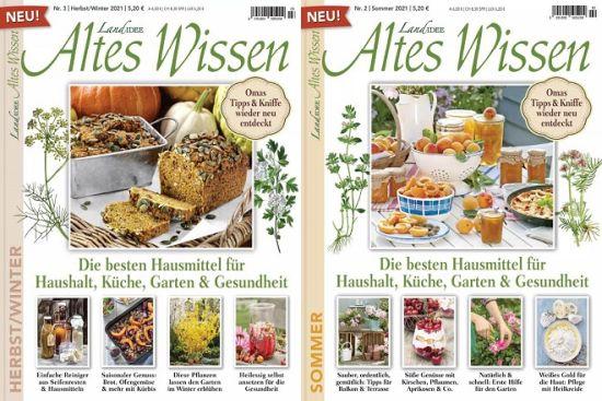 Cover: Landidee Altes Wissen Magazine No 02 + 03 Sommer, Herbst, Winter 2021