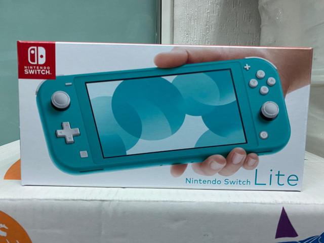 Les différents pack Switch Lite-Bleu