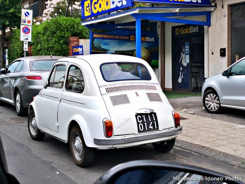 avvistamenti auto storiche - Pagina 9 Fiat-500-D-64-CT110141