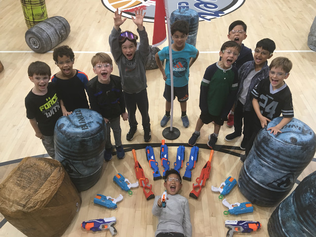 Funny-Photo-of-Nerf-Party-in-West-Los-Angeles-on-February-10th-2019-in-our-indoor-nerf-arena