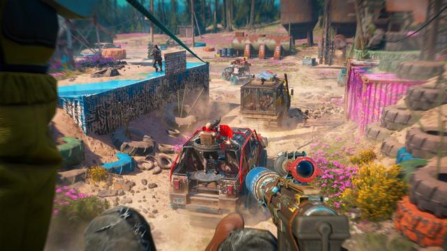 Far Cry New Dawn - как найти этанол?