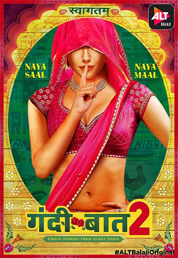 Gandii Baat 2019 Hindi S02 Complete ALTBalaji Web Series 720p UNRATED HDRip ESubs 1.5GB | 700MB Download