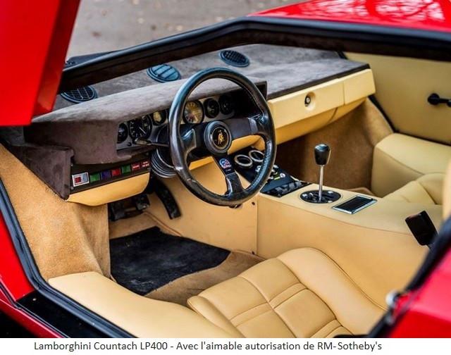 Lamborghini Miura SV et Countach LP 400 «Periscopio» atteignent des prix records à la vente RM Sotheby's Paris 579663-v2