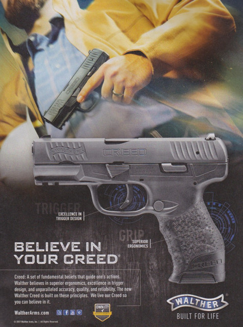 Walther Gun Ad Cred
