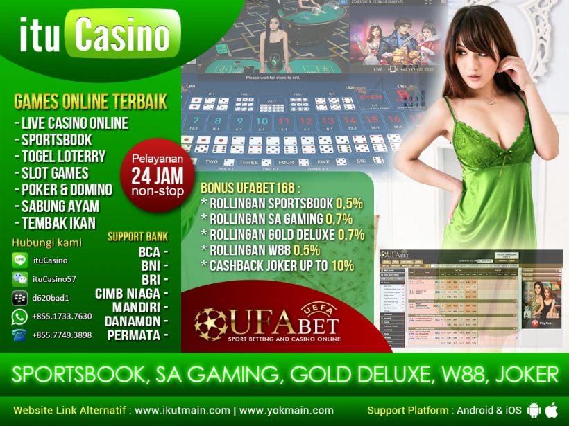 ituCasino Judi Casino – Judi Bola – Judi Poker – Judi Domino QQ