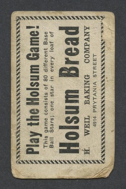 1920 Holsum Bread Wambganss B.jpg