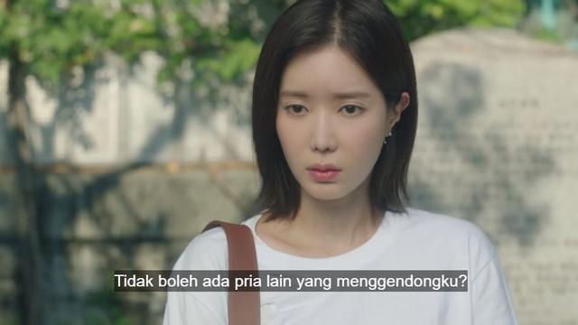 Kyung Seok tidak ingin Mi Rae digendong pria lain
